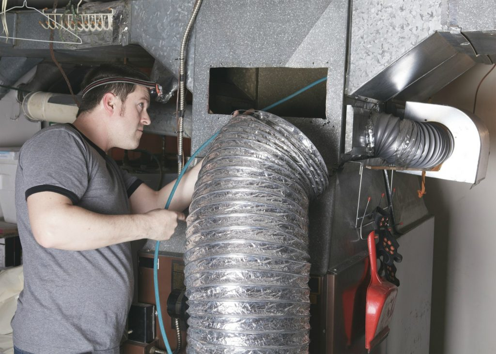 air duct repair replacement and installation in San Diego - Summit Clean Air